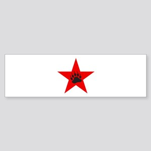 Red Star Sticker (Bumper)