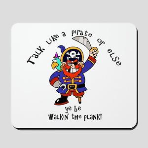 Peg Leg Pirate Mousepad