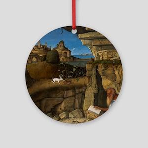 Giovanni Bellini - Saint Jerome Reading Ornament (