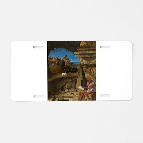 Giovanni Bellini - Saint Jerome Reading Aluminum L