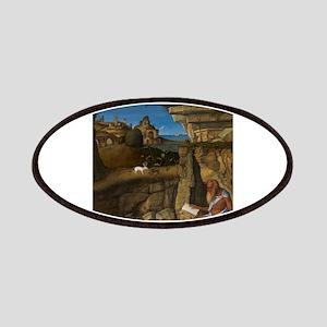 Giovanni Bellini - Saint Jerome Reading Patches