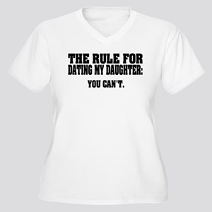 Rule For Dating M Women's Plus Size V-Neck T-Shirt
