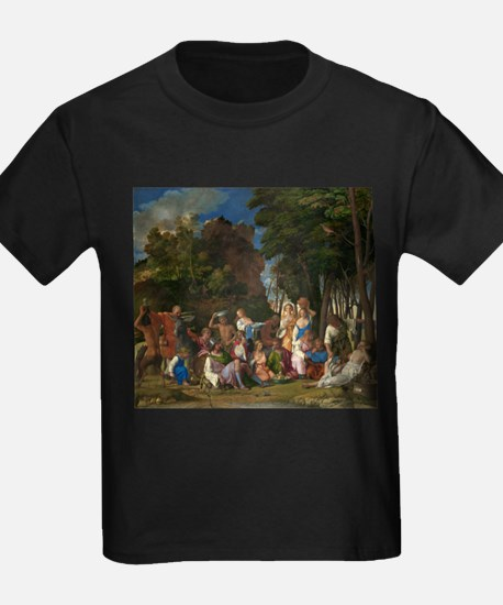 Giovanni Bellini and Titan - The Feast of the God