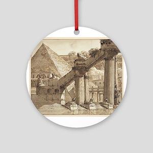 Giovanni Galliari - Egyptian Stage Design Ornament