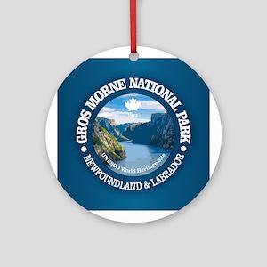 Gros Morne National Park Round Ornament