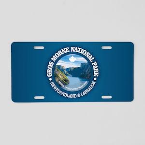 Gros Morne National Park Aluminum License Plate