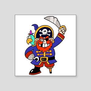 Peg Leg Pirate Sticker