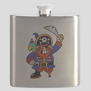 Peg Leg Pirate Flask
