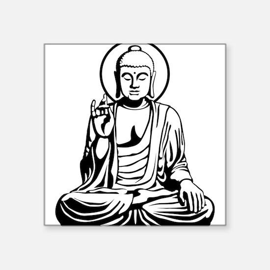 Young Buddha No.1_2c Sticker