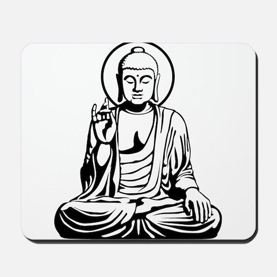 Young Buddha No.1_2c Mousepad