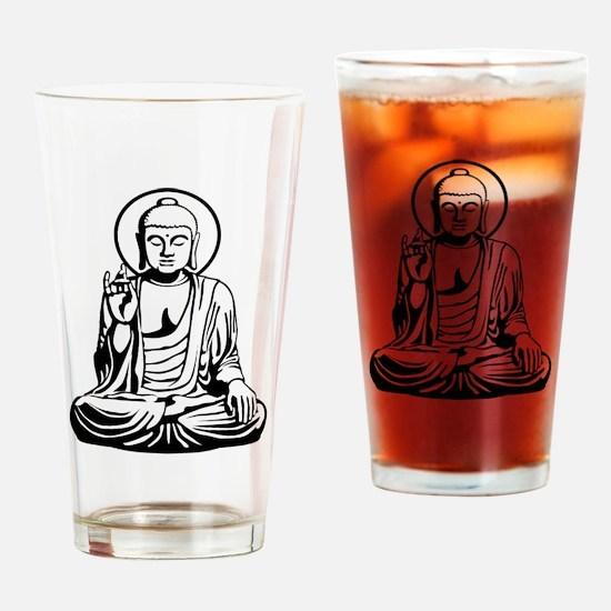 Young Buddha No.1_2c Drinking Glass