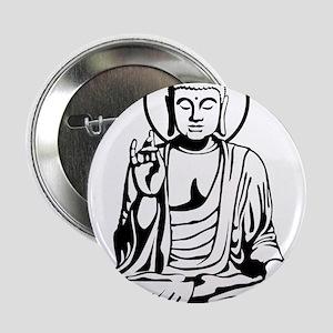 """Young Buddha No.1_2c 2.25"""" Button"""