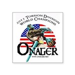 Onager Square Sticker 3&Quot; X 3&Quot;