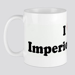 I Love Imperious Asses Mug