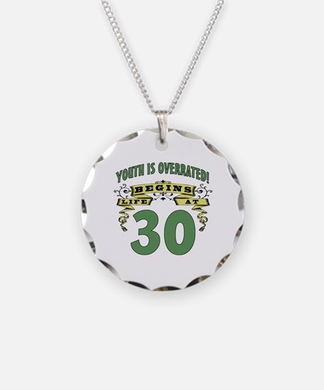 Life Begins At 30 Necklace