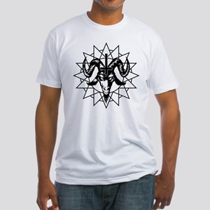 Satanic Goat Head with Chaos Star T-Shirt
