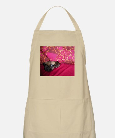 Sneaky Pug is Watching You Apron