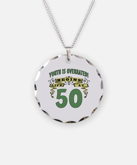 Life Begins At 50 Necklace