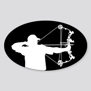 Bow Hunter (black version) Sticker