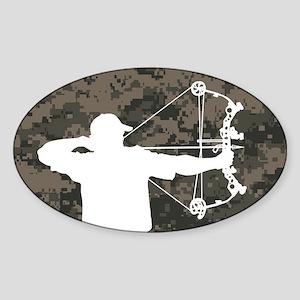 Bow Hunter (camo version) Sticker