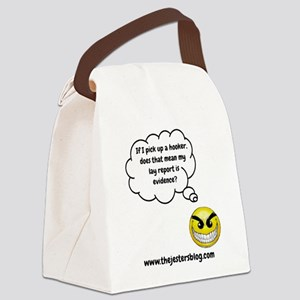 If I Pick Up A Hooker Canvas Lunch Bag