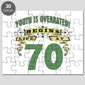 Life Begins At 70 Puzzle
