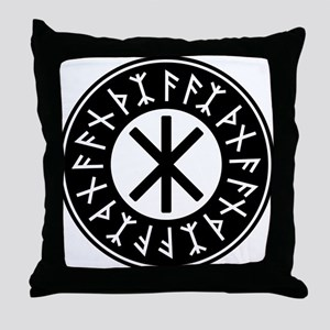 Odin's Protection No.1_1c Throw Pillow