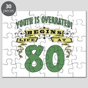 Life Begins At 80 Puzzle