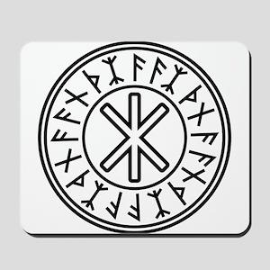 Odin's Protection No.2_2c Mousepad
