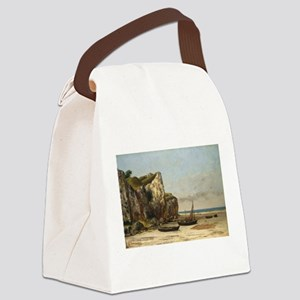Gustave Courbet - Beach in Normandy Canvas Lunch B
