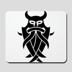 Odin's Mask Tribal Mousepad