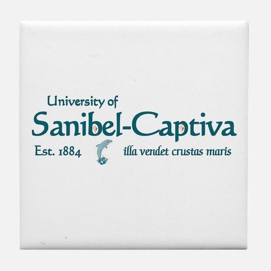 Sanibel U -  Tile Coaster