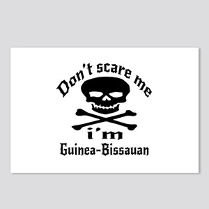 Do Not Scare Me I Am Guin Postcards (Package of 8)