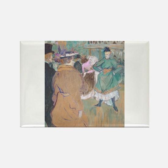 Henri de Toulouse-Lautrec - Quadrille at the Moul
