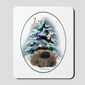 Pekingese Christmas Mousepad
