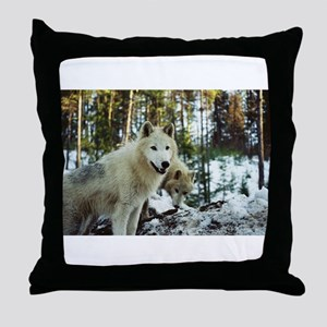 """""""Waiting For Alpha To Say Let's Go"""" Throw Pillow"""