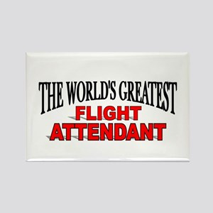 """The World's Greatest Flight Attendant"" Rectangle"