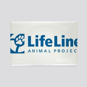LifeLine Animal Project Rectangle Magnet