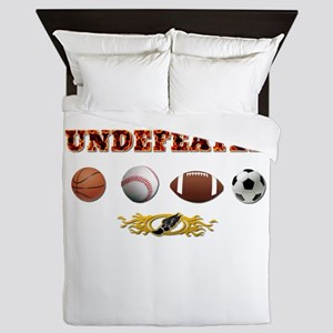 Undefeated Queen Duvet