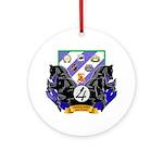 """4th Brigade """"Vanguard"""" Ornament (Round)"""