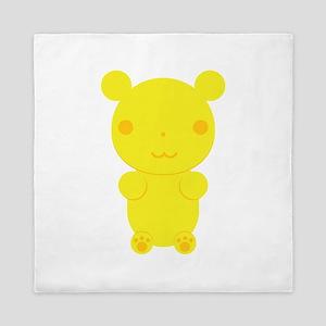 Gummi Bear - Yellow Queen Duvet