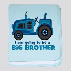 I am Going to be a Big Brother baby blanket