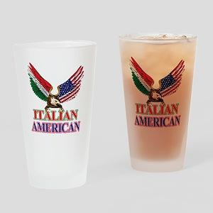 Italian American Drinking Glass