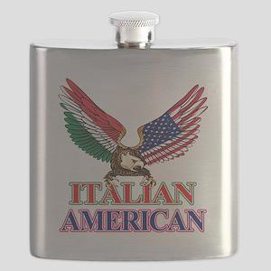 Italian American Flask