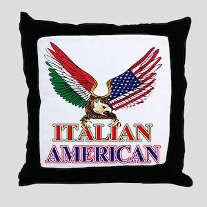 Italian American Throw Pillow