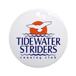 Tidewater Striders Round Ornament