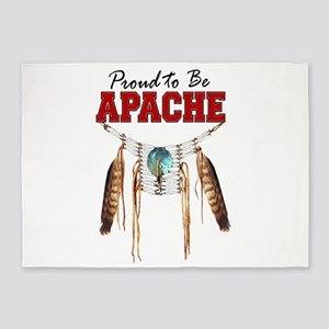 Proud to be Apache 5'x7'Area Rug