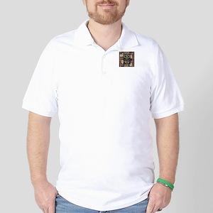 Old School Golf Shirt