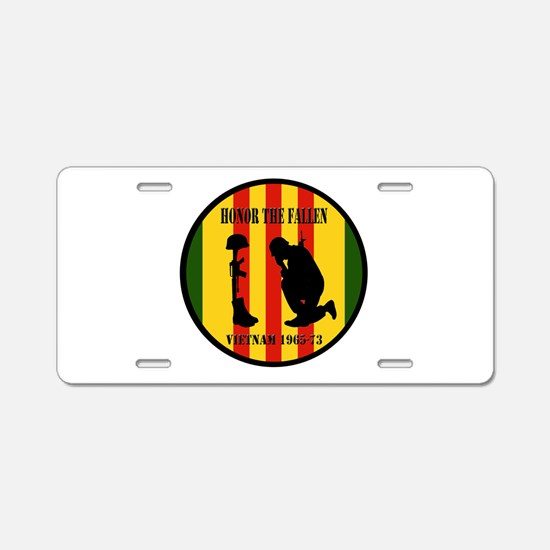 Honor the Fallen Vietnam 1965-73 Aluminum License