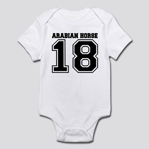 Arabian Horse SPORT Infant Bodysuit